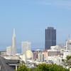 De skyline van San Francisco, met de kenmerkende TransAmerica pyramide.