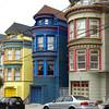 En hoe dichter we bij het beroemde kruispunt kwamen, des te kleuriger werden de huizen...