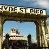 De Ferry Eureka, waarmee voor de aanleg van de Golden Gate Bridge de oversteek van de baai mogelijk was...