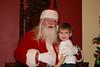 Tyler with Santa.