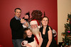 The family with Santa.