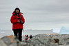 Antarctic Cruise - Day 6 - Yalour Islands - Landing - veena with Camera