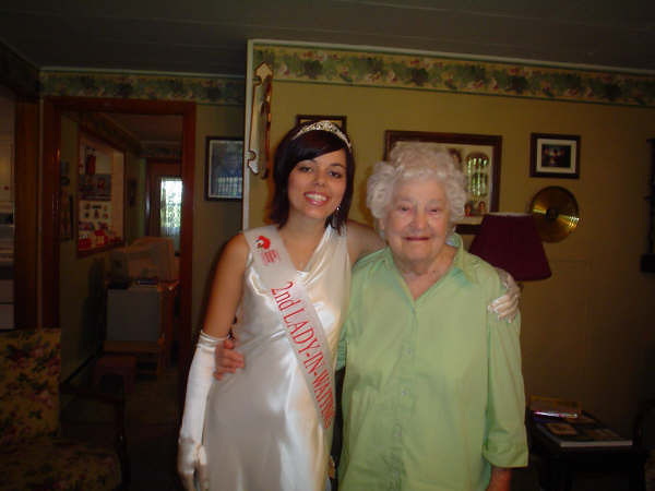 With Aunt Margaret