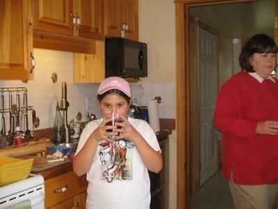Brett at Aunt Margarets