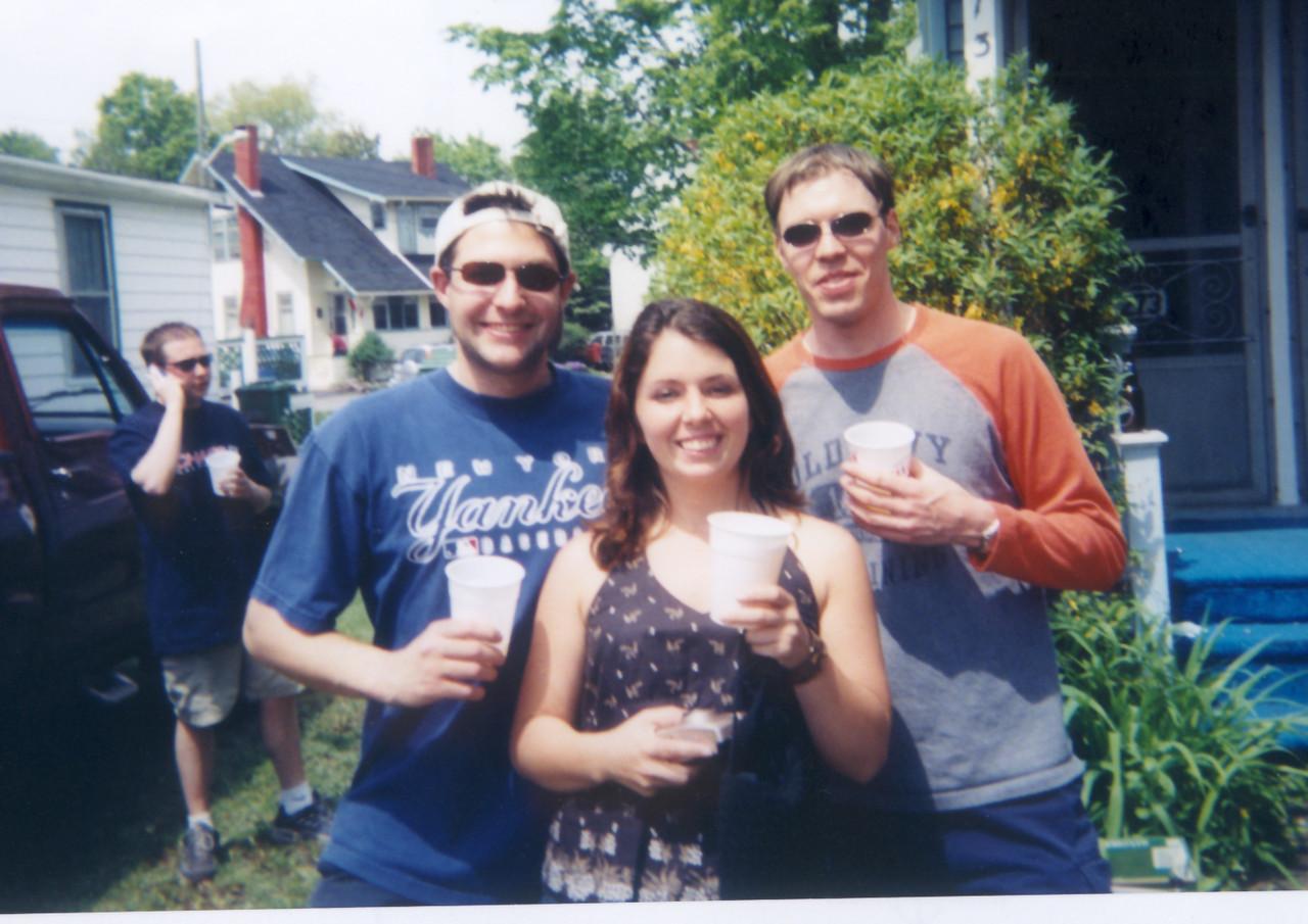 Gren, Bud and I