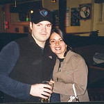 Peter and I at Paddy's Pub