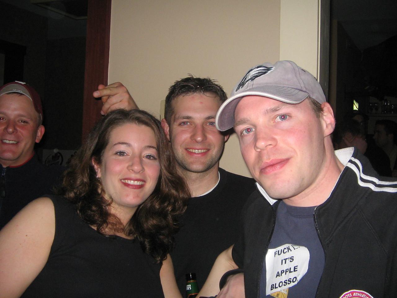 Terri Lynn, Gren and Bud at Kaps