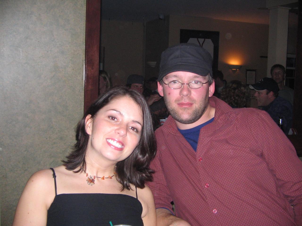 Jason and I at Kaps