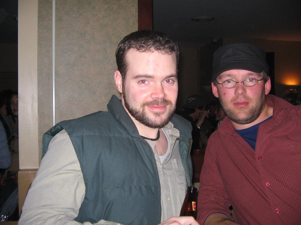 Peter and Jason at Kaps