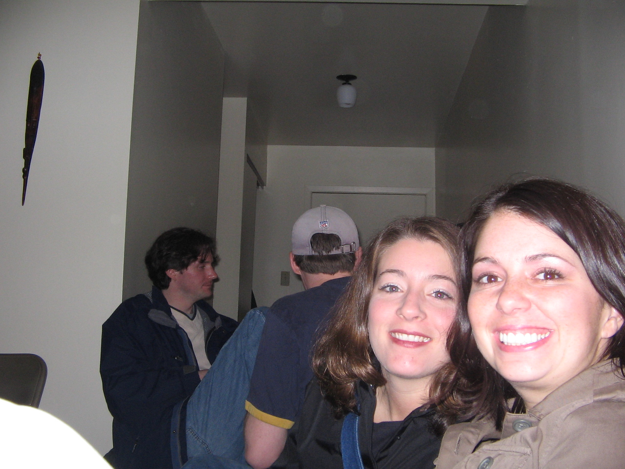 Terri and I at Big Trev's Place