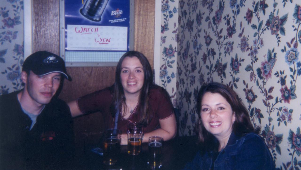 Dawn, Bud and I at Kaps