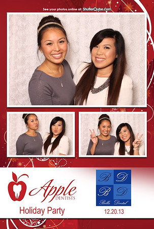 Apple Dentist and Bella Holiday Party 12-20-13