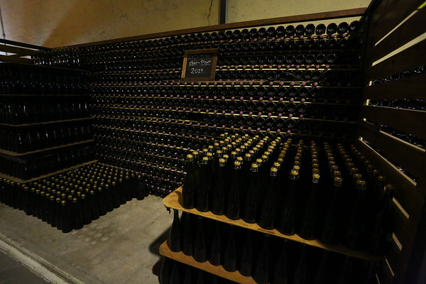 Sparkling wine, or Champagne if you buy it from France, requires more work to get to the final product. There is an additional fermentation stage in bottles which need to be turned and rotated several times.