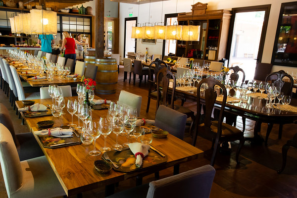 Some of the top wineries also offer lunch menus consisting of 4+ courses paired with wine. The quality of both is very good and you'll want to return.
