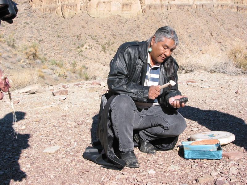 Grand Canyon Bottom - Guide Making Arrowhead