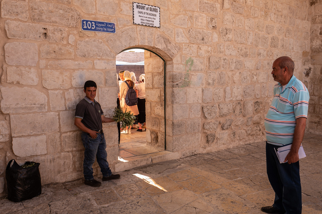 Ascension Day , Mount of Olives, Jerusalem