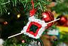 christmas ornament made by Miyopin: God's eye