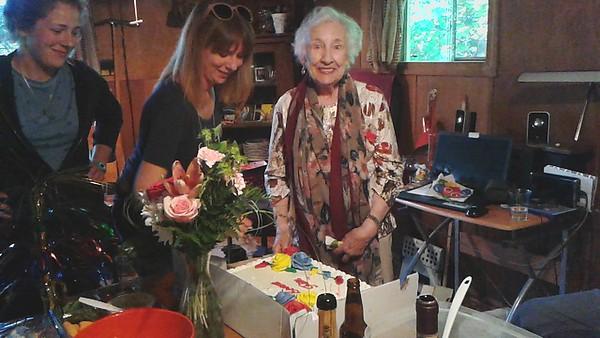 Aunt Louise's 90th