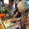 Bday Girl & Cake