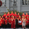First experience of Christmas in summer!  Christmas carols and songs in Rosalind park from choir and singers