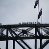 Sydney Harbour bridge - climbers