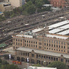 Sydney Central station - photo from hotel room