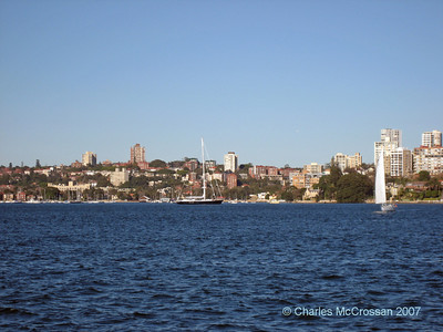 Out and about in Sydney Harbour - views of and from the water!