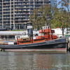 Tug Forceful at Brisbane Maritime Museum  - only remaining working coal-fired steam tug in Queensland;  offers  regular sailings down the Brisbane River.  Built in 1925 by Alex Stephen & Son Ltd., Glasgow, Scotland.
