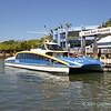 City Cat ferry Tunamun at South Bank Parklands pontoon 2