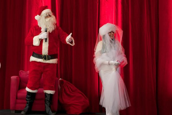 Le Père Noël et la fée d'étoiles