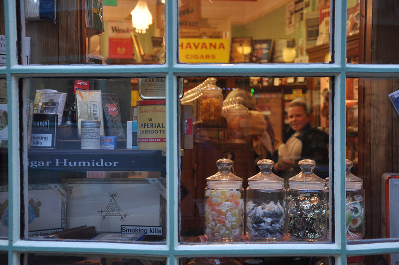 The Sweet Shop, Hastings: Sweets, cigars & Katie - an unlikely combination