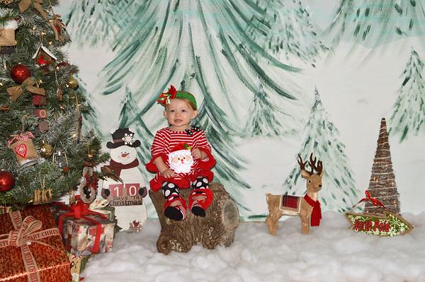 Ava's 1st Christmas