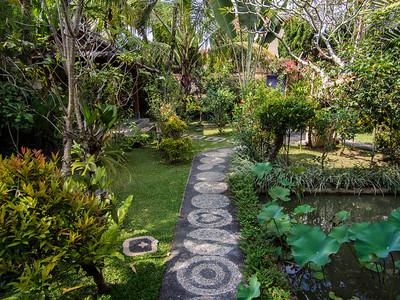 Alam Indah hotel garden