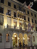 Les Trois Rois, the appropriately Christmassy-named Basel hotel which has hosted Napoleon, Voltaire, HM the Queen, the Rolling Stones, Gustav Mahler, Pablo Picasso and Hans Christian Anderson.  But not all at the same time. And not us either.