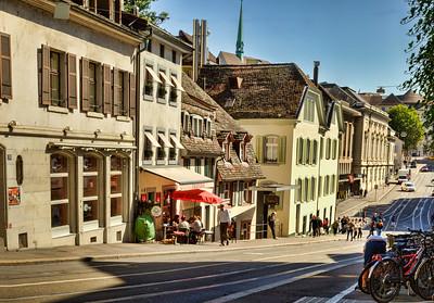 Street scene, Basel, Switzerland
