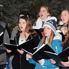 Debbie Blank | The Herald-Tribune<br /> The Batesville Singers, Batesville High School's show choir, provided seasonal melodies for spectators.