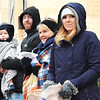 Debbie Blank | The Herald-Tribune<br /> Batesville native Katie (Thielking) and Todd Mazur, Cleveland, brought their son, Brody, 1, to see the parade. With them is an aunt, Millie Blanken, Batesville.