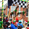 "Debbie Blank | The Herald-Tribune<br /> Enneking Auto Body took first place in the Batesville Area Chamber of Commerce Holiday Parade with the theme ""A Magical Indiana Christmas."" The parade and market in RomWeber Marketplace were Saturday, Nov. 19."