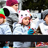 Debbie Blank | The Herald-Tribune<br /> Tykes attending Ms. Sarah's Schoolhouse gave candy to the spectators.