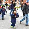 Debbie Blank | The Herald-Tribune<br /> Cub Scout Pack 636 members saw all the spectators along the route.