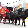 Debbie Blank | The Herald-Tribune<br /> Beautiful horses pulled Kroger's vintage wagon.