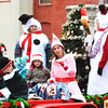 Debbie Blank | The Herald-Tribune<br /> Tim Weberding Woodworking sponsored a festive float.