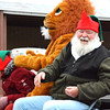 Debbie Blank | The Herald-Tribune<br /> Batesville Lions Club member Gary Dudgeon is sitting next to a special friend.