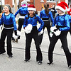 Debbie Blank | The Herald-Tribune<br /> Batesville Middle School Dance team members kept warm by performing.