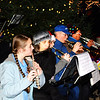 Debbie Blank | The Herald-Tribune<br /> Festive tunes from the Eureka Band and a free movie at the Gibson Theatre closed out the evening's entertainment.