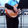 Diane Raver | The Herald-Tribune<br /> Mike Fritsch entertained the crowd by singing Christmas carols.