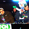 Debbie Blank | The Herald-Tribune<br /> The Batesville Holiday Parade route was shortened this year. FCN Bank employees were in high spirits at the end of the route. The procession and tree lighting were sponsored by the city of Batesville, Batesville Area Chamber of Commerce and Batesville Main Street.