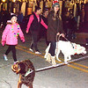 """Aaaawwwhhh"" was the general sentiment when dogs appeared in a cluster during the parade."