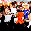 A choir consisting of students from the Batesville public schools entertained attendees.