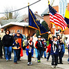 Debbie Blank | The Herald-Tribune<br /> Cub Scout Pack 636 has participated in the procession for many years.